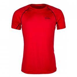 Pánské funkční triko Kilpi Rainbow M Velikost: S / Barva: červená