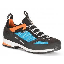 Pánské nízké trekové boty Aku Tengu Low GTX Velikost bot (EU): 41,5 / Barva: modrá