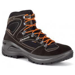 Trekové boty AKU Sendera GTX Velikost bot (EU): 46,5 / Barva: černá/oranžová