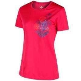 Dámské triko Regatta Fingal III růžové Velikost: L / Barva: růžová