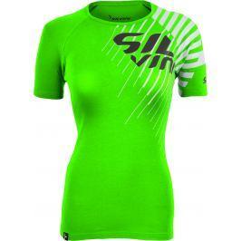 Dámské triko Silvini Promo WT518 Velikost: XS / Barva: zelená/černá