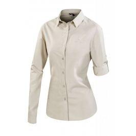 Dámská košile Ferrino Perinet Long Sleeve Woman Velikost: XS / Barva: béžová