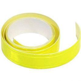 COMPASS Samolepící páska reflexní 2cm x 90cm žlutá