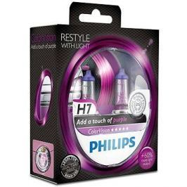 PHILIPS  H7 ColorVision Purple,55W, patice PX26d, 2ks