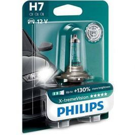 PHILIPS  H7 X-tremeVision, 55W, patice PX26d