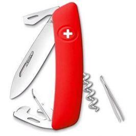 Swiza švýcarský kapesní nůž D03 red