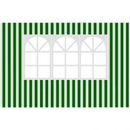 Happy Green Bočnice k zahradnímu altánu s oknem, pruhy