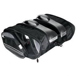 LAMPA Moto brašny sedlové, 25-37L, 2ks
