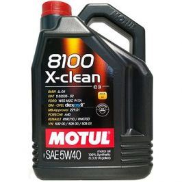 MOTUL 8100 X-CLEAN 5W40 5L