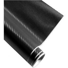 4CARS Fólie 3D CARBON se vzduchovými kanálky černá 1.52x5m