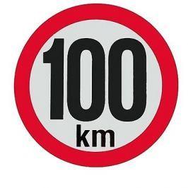 AGADOS Samolepka 100 km reflexní