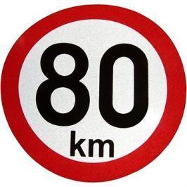 AGADOS Samolepka 80 km reflexní
