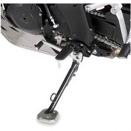 GIVI ES 3101 rozšíření bočního stojánku Suzuki DL 650 V-Strom L2-L6 (11-16) , stříbné hliníkové