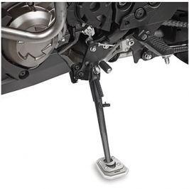 GIVI ES 4103 rozšíření bočního stojánku Kawasaki Versys 650 (10-17), stříbné hliníkové