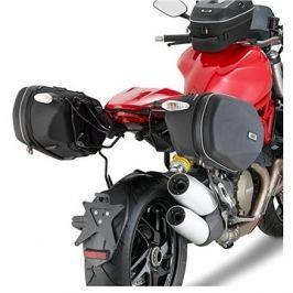 GIVI TE 7404 trubkový držák brašen Ducati Monster 1200 (14-16) - systém EASYLOCK