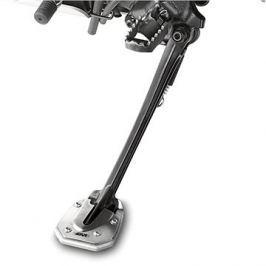GIVI ES 1110 rozšíření bočního stojánku Honda Crosstourer 1200 (12-16), stříbné hliníkové