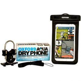 OXFORD voděodolný kryt na telefony Aqua Dry Phone, (verze s kotvením na řídítka)