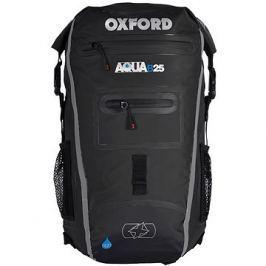 OXFORD vodotěsný batoh Aqua25R, (černá/šedá, objem 25l)