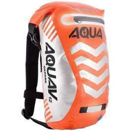 OXFORD vodotěsný batoh Aqua V12 Extreme Visibility, (oranžová fluo/reflexní prvky), objem 12l