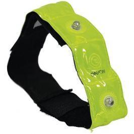 OXFORD reflexní pásek se 4-mi LED diodami Bright Band Plus,  (žlutá fluo)