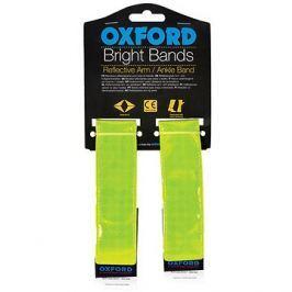 OXFORD reflexní pásky Bright Bands na suchý zip, (žlutá fluo, pár)