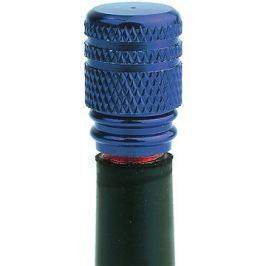 OXFORD kovové čepičky ventilků, (modrý elox)