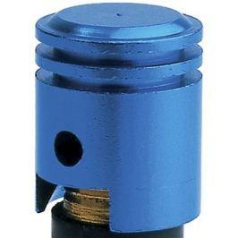 OXFORD kovové čepičky ventilků imitace píst, (modrý elox)