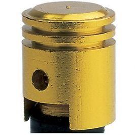 OXFORD kovové čepičky ventilků imitace píst, (zlatý elox)