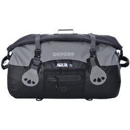OXFORD vodotěsný vak Aqua70 Roll Bag, (černý/šedý, objem 70l)