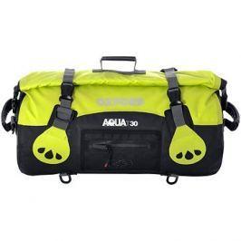 OXFORD vodotěsný vak Aqua30 Roll Bag, (černý/fluo, objem 30l)