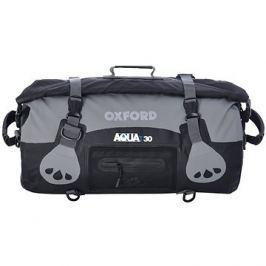 OXFORD vodotěsný vak Aqua30 Roll Bag, (černý/šedý, objem 30l)