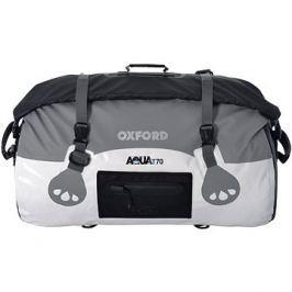 OXFORD vodotěsný vak Aqua70 Roll Bag, (bílý/šedý, objem 70l)