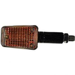 OXFORD blinkr Mini dlouhý, (oranžové sklíčko, černý plášť, pár)