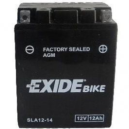 EXIDE BIKE Factory Sealed 12Ah, 12V, AGM12-14 (YTX14AHL-BS)