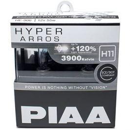 PIAA Hyper Arros 3900K H11 - o 120 procent vyšší svítivost, zvýšený jas