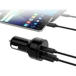 Aukey Adaptive USB-C Charge 2.0 2- Port Car Charger
