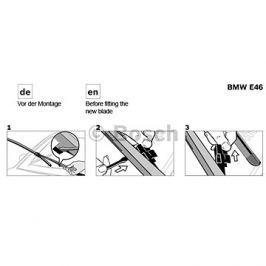 Bosch Retro Aerotwin 550+400mm BO 3397118984