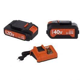 POWERPLUS Set akumulátorů a nabíječky řady DualPower