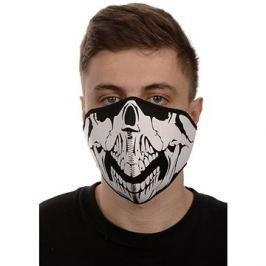 EMERZE maska neoprenová Skull, černá/bílá