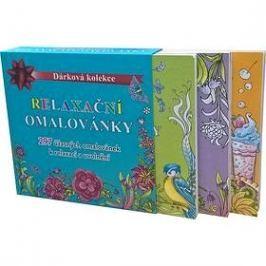 Relaxační omalovánky box: Dárková kolekce