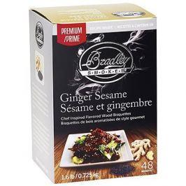 Bradley Smoker - Brikety Premium Ginger Sesame 48ks