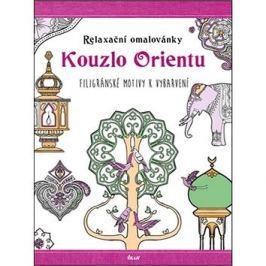 Relaxační omalovánky Kouzlo Orientu: Filigránské motivy k vybarvení