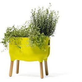 Plastia nízká pěstební nádoba Urbalive, sv. zelená