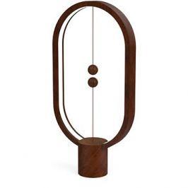Powercube Heng Balance Lamp Ellipse tmavé dřevo