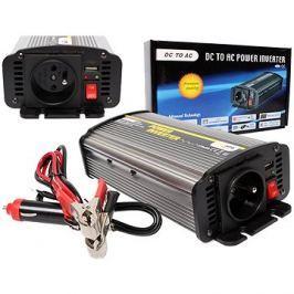 Carspa 24V/230V+USB 600W