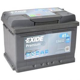 EXIDE Premium 61Ah, 12V, EA612