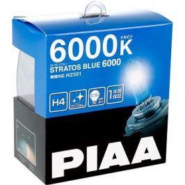 PIAA Stratos Blue 6000K H4 - studené bílé světlo s xenonovým efektem