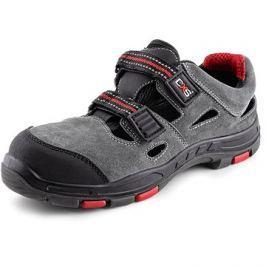 CXS Obuv sandal ROCK PHYLLITE S1P, šedá, vel. 44