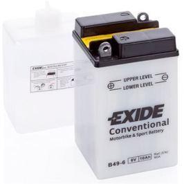 Motobaterie EXIDE B49-6, 8Ah, 6V, 90A