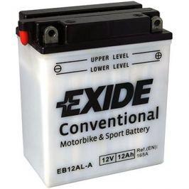 Motobaterie EXIDE BIKE Conventional 12Ah, 12V, YB12AL-A